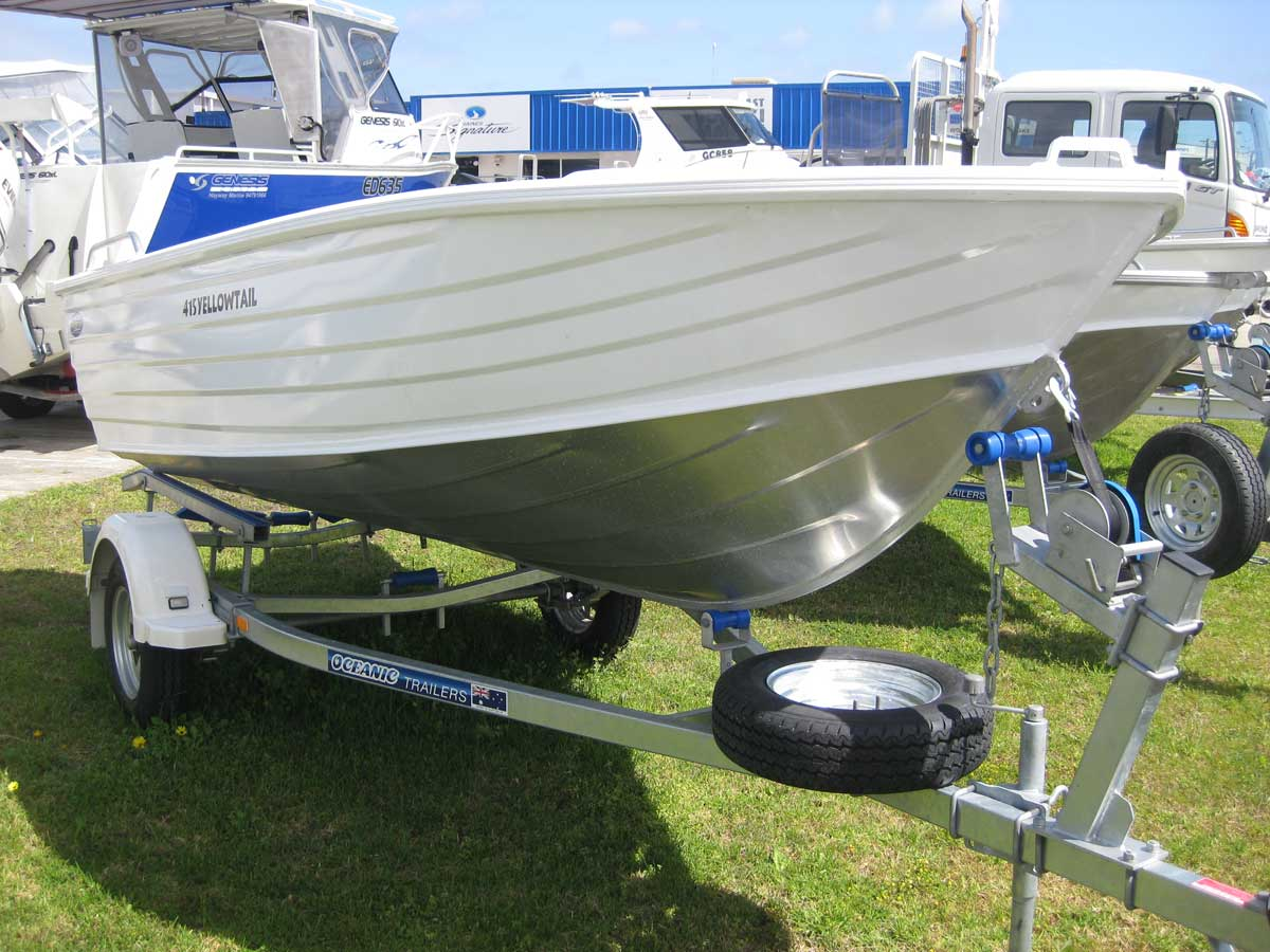 Suzuki Outboard Engine Malaysia >> Oceanic 415 Yellowtail | LeisureCat & AussieCat